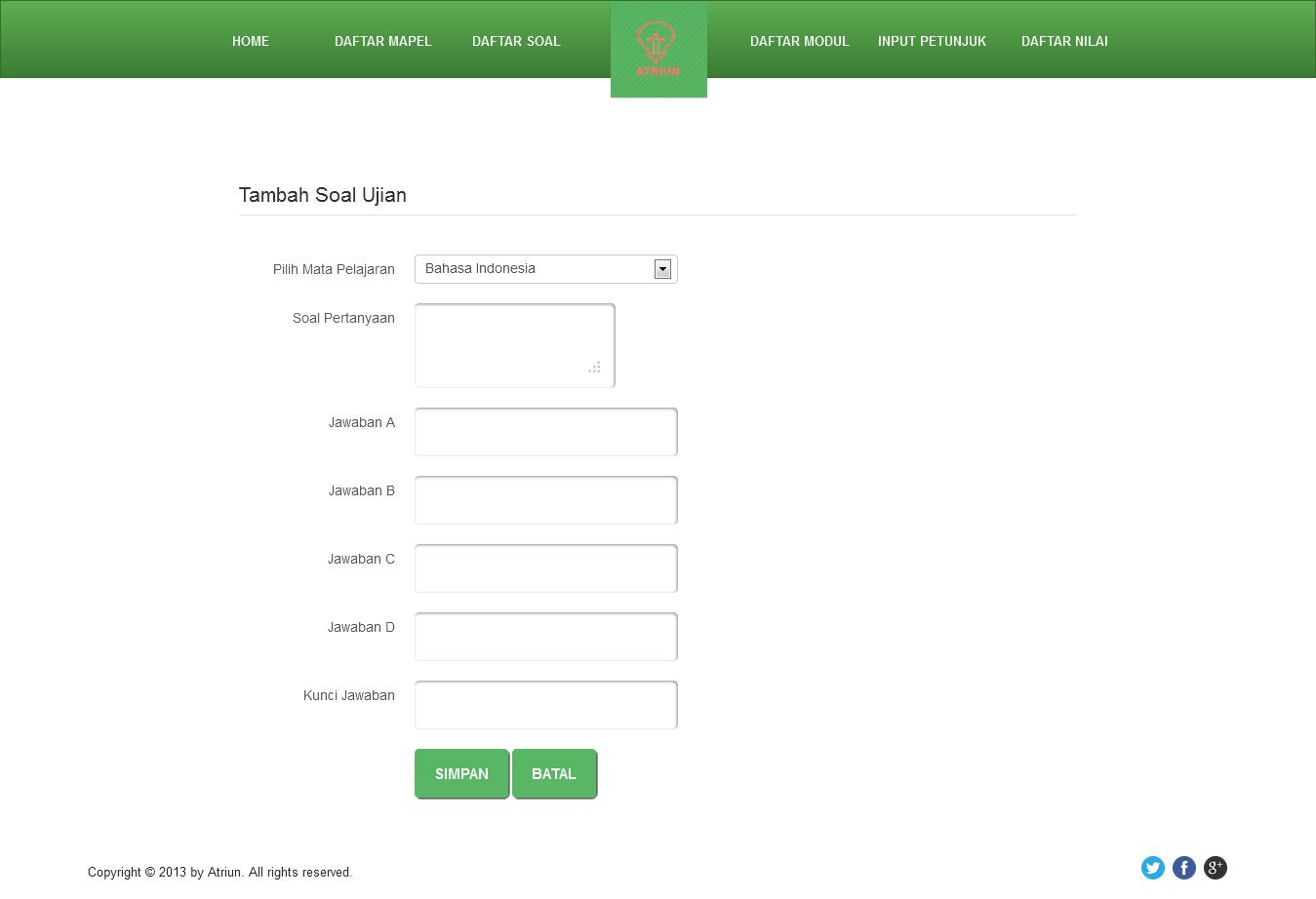 Aplikasi Ujian Online Dengan Php Source Bundle Kicencode
